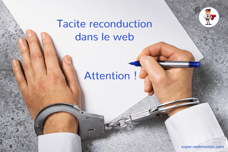 Tacite reconduction agence web